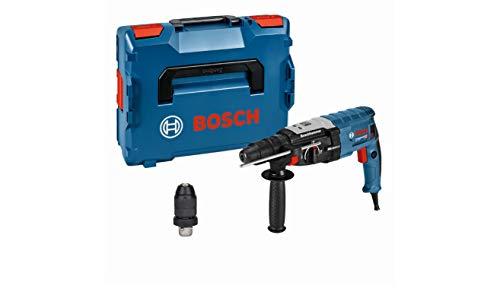 Bosch Professional Bohrhammer GBH 2-28 F (SDS-plus-Wechselfutter, 13 mm Schnellspannbohrfutter, bis 28 mm Bohr-Ø, Rückschlag-Schutz, in L-BOXX)