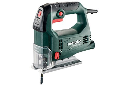 Metabo Stichsäge STEB 65 Quick (601030500) Kunststoffkoffer, Nennaufnahmeleistung: 450 W, Abgabeleistung: 230 W, Schnitttiefe Holz: 65 mm