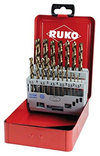 RUKO 215214 Spiralbohrersatz Co