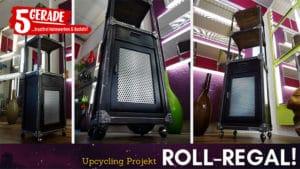 DIY upcycling Regal im Industrial - Design selber machen
