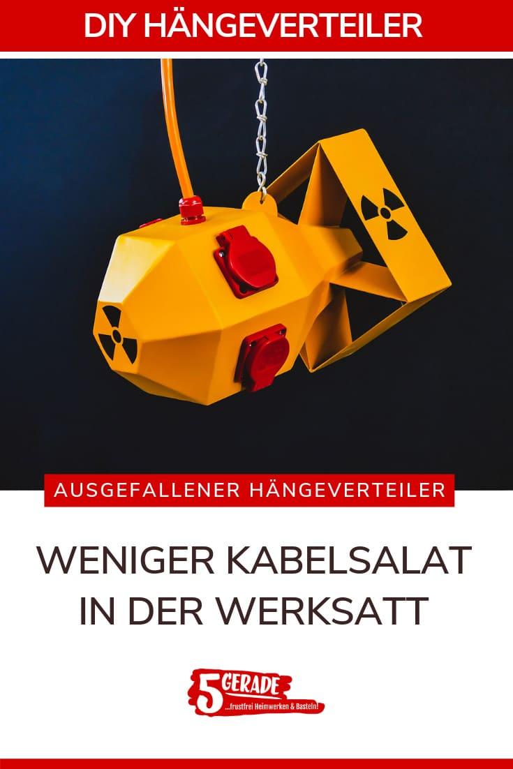Hängeverteiler / Energiewürfe Steckdosenwüfell für Werkstatt aus metall selber bauen