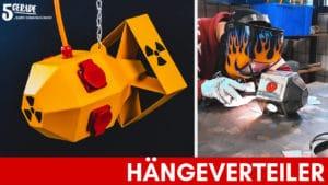 Hängender Steckdosenverteiler / Energiewürfel für Werkstatt selber bauen