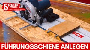 Anlegehilfe für Bosch FSN Führungsschiene