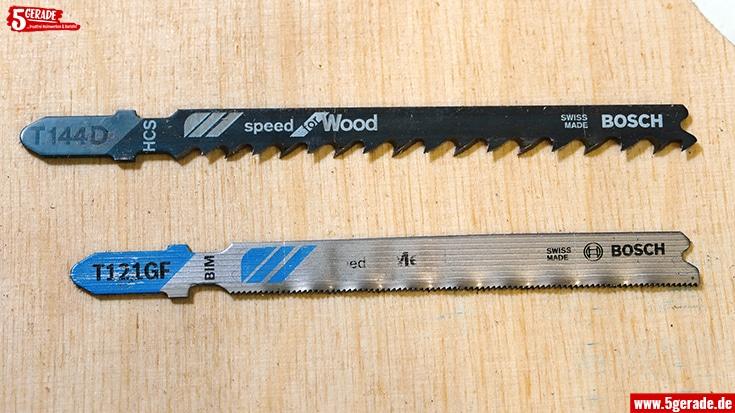 Unterschied Holz und Metall Sägeblatt für Stichsägen