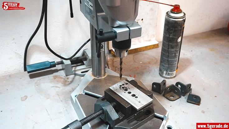 Metall lässt sich natürlich auch bearbeiten. Aber bitte mit Vorsicht.