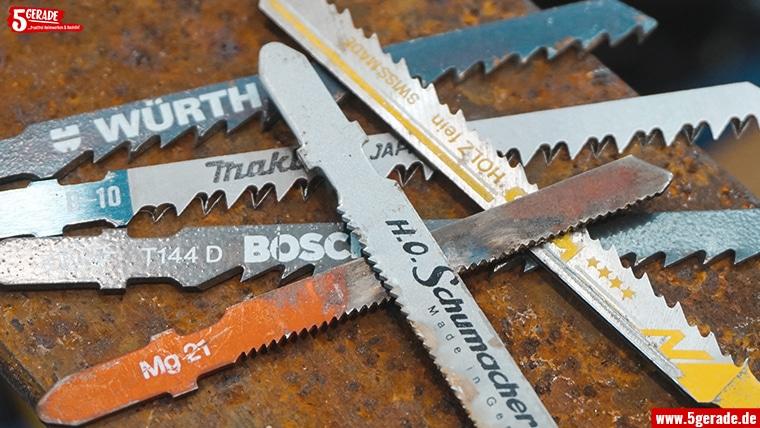 Welches Stichsägeblatt für Blech & Metall